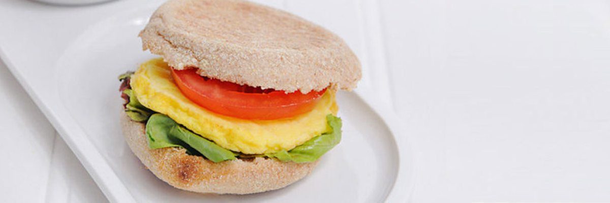 Grilled egg patties made deliciously easy.